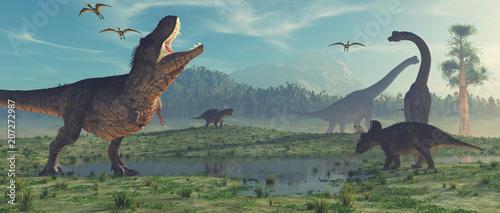 3d render dinosaur. © Orlando Florin Rosu