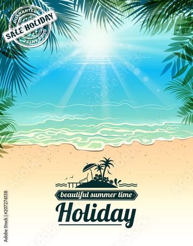 beautiful tropic island - 207276138