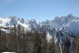 view of european alps