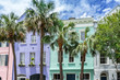 Quadro Rainbow Row in Charleston South Carolina