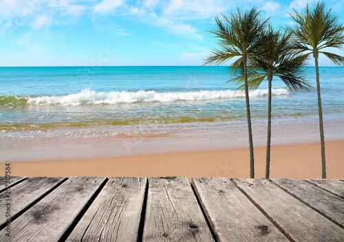 Poster vacaciones de verano