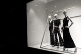 mannequins stand in the store