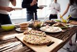 People Eating Healthy Meal - 207356145