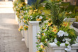 increasing curb appeal of outdoor cafe restaurants with flowers