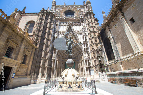 Cathedral of Saint Mary (Catedral de Santa Maria de la Sede) in Seville