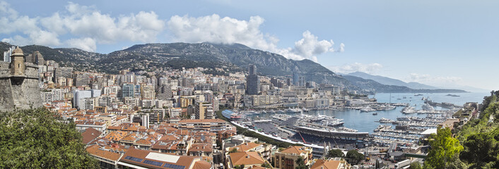 Monte-Carlo Monaco Panorama © Jareck