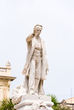 Monument to Jose Marti at Central Park of Havana, Cuba. Copy space for text. Vertical.