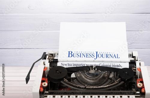 Fototapeta Typewriter.