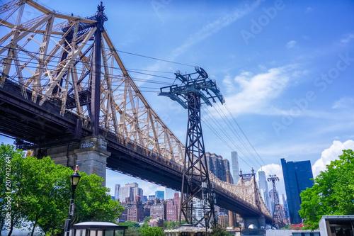 Fotobehang New York Queensboro Bridge New York