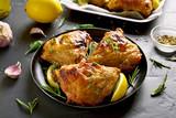 Grilled chicken thighs - 207414106