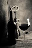 red wine tasting - cream tone style image - 207416788