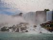 Niagara falls in NY, USA