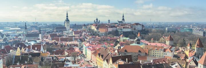 Cityscape of Tallinn, Estonia