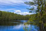 Beautiful lake view, Espoo, Finland