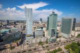 The skyline of Warsaw