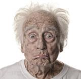Senior man On White - 207450574