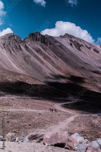 Fotobehang Cappuccino Nevado de Toluca