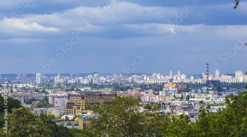 Aluminium Kiev General View of Kiev City