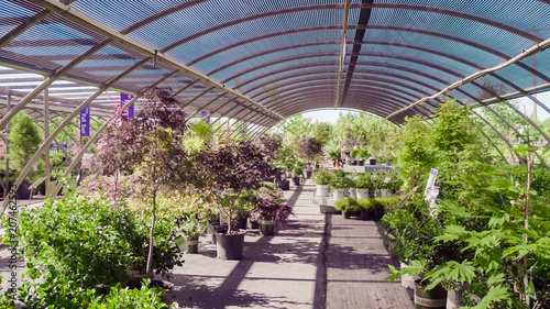 Leinwanddruck Bild Garden center