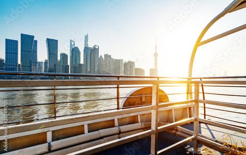 Aluminium Shanghai Shanghai city skyline