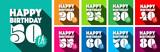 Happy 20th Birthday to Happy 80th Birthday - 207493170