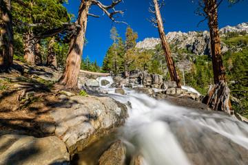 Eagle Falls at Lake Tahoe - California, USA © haveseen