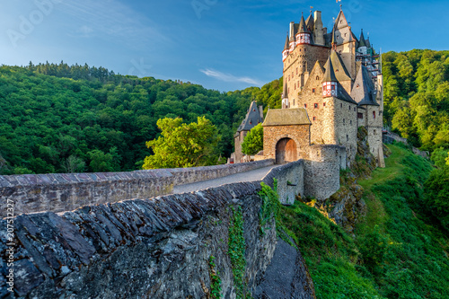 Burg Eltz castle in Rhineland-Palatinate, Germany.