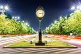 Union Boulevard by night, in downtown Bucharest (aka Bucuresti), Romania - 207522526