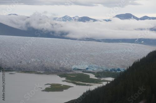 Aluminium Donkergrijs Alaska from the air 3