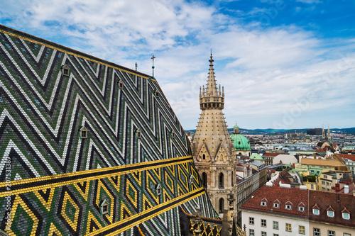 fototapeta na ścianę Wien vom Stephansdom