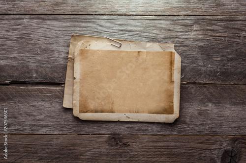 Vintage blank photo - 207546501