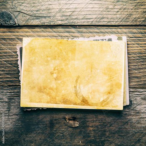 Vintage blank photo - 207550501