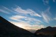 Sunset at Desert National Wildlife Refuge