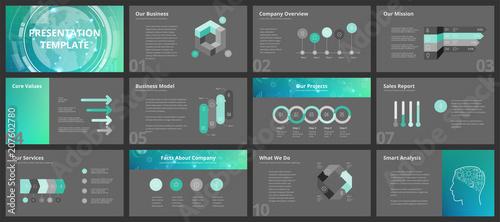 Business presentation templates - 207602780