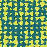 Seamless pattern. Endless background of geometric shapes. Arrow seamless pattern - 207617309