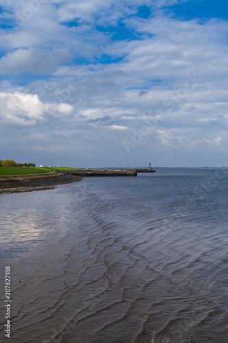 Fotobehang Noordzee Am Jadebusen in Wilhelmshaven
