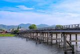 京都嵐山の渡月橋