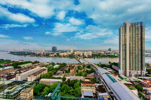 Aluminium Bangkok Bangkok city on daylight