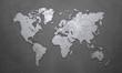 Leinwanddruck Bild - World Map