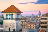 Havana, Cuba downtown skyline from the port. - 207637174