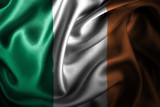 Ireland Silk Satin Flag