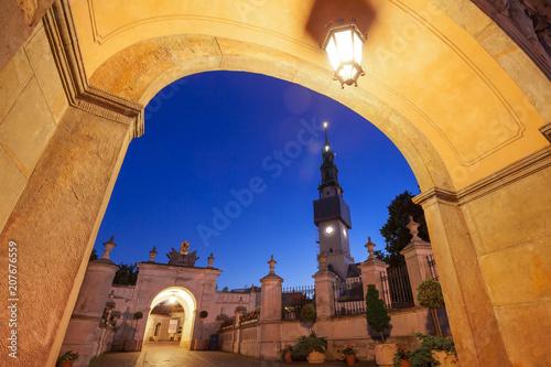 Brama wjazdowa do klasztoru na Jasnej Górze