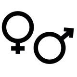 Männlich Weiblich SYmbol - 207684192
