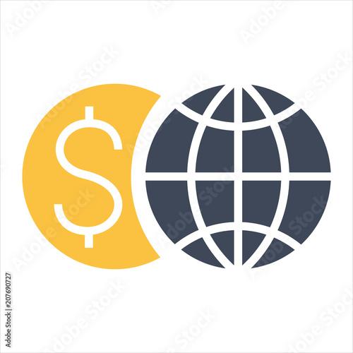Fototapeta money icon