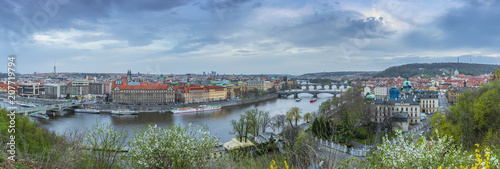 View of Prague from the Prague Metronome, Czech Republic - 207719794
