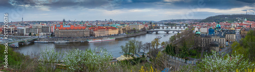 View of Prague from the Prague Metronome, Czech Republic - 207720576