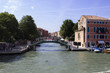 Water street in Venice, Italy