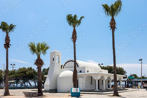 Canvas Cyprus Кипр. Айя-Напа. Церковь Святого Георгия.