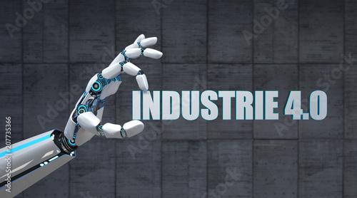 Roboterhand Industrie 4.0