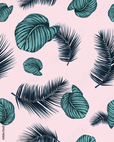 seamless-indigo-tropical-pattern